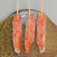 〈石臼&手作り〉カニの天ぷら長串(78g x 10本 x 6袋)