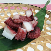 茹で蛸カット(4~6g)1kgX10パック