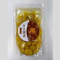 韓国産栗甘露煮準1級Sサイズ(スタンドパックで開封簡単・ゴミ捨て簡単)900gX12PC
