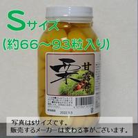 栗甘露煮S(約66~93粒入り/瓶)x12瓶