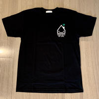 Selection of life. OUCHI LOGO Tee Black