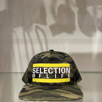 Selection of life. Bold Line LOGO Cap CAMO