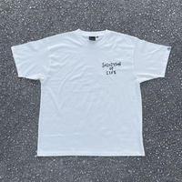 Selection of life. 2nd Brand Logo Tee WHITE