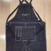 Selection of life. Brand LOGO Apron INDIGO