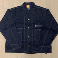 Selection of life. Denim Coverall INDIGO