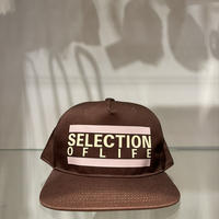 Selection of life. Bold Line LOGO Cap CAMEL