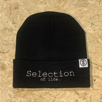 Selection of life. Brand LOGO Beanie BLACK