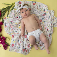 """""""ANGEL DEAR"""" swaddle for baby girl"""
