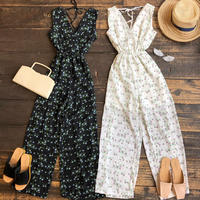 floral all in one dress