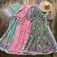 Indian fabric maxi dress