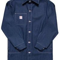 Pointer Brand Indigo Denim Long Jacket with 1/2 Circle Pockets ( Size M , L )