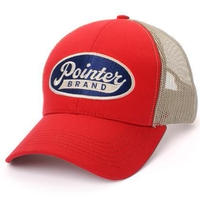 Pointer Brand Red Logo Cap