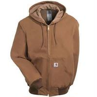 Carhartt Duck Active Jacket ( Thermal Lined ) Brown