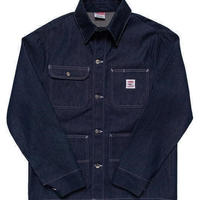 Pointer Brand Indigo Blue Denim Chore Coat