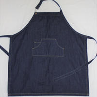 B & C Collection  Denim Bib Apron