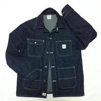 Pointer Brand Indigo Denim Chore Coat - Raw Cone White Oak ( Size S )