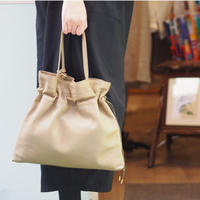 POMTATA  SPAIN TOTE BAG / OLIVE