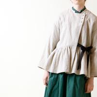 リネン・ウール・セミカシュクール・ジャケット/アイボリー