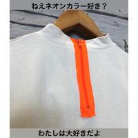 【TRANOI(トラノイ)】ネオンカラージップのAラインロンT