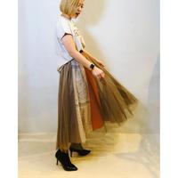 【LUGIVA(ルギヴァ)】チュールレイヤードスカート
