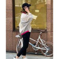 【TRANOI(トラノイ)】ネオンカラー配色ドルマントップス