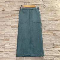 【ROSIEE(ロージー)】フェイクベロアストレッチタイトスカート