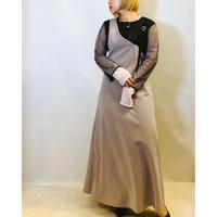 【LUGIVA(ルギヴァ)】アシンメトリージャンパースカート