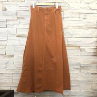 【flamingo firm(フラミンゴファーム)】リラックスカラースカート