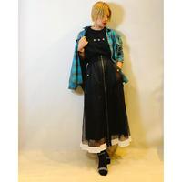 【Rising(ライジング)】メッシュレイヤードスカート
