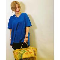 【ANNNA KERRY(アンナケリー)】切り替えゆるシルエットTシャツ