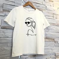 【ROSIEE(ロージー)】立体刺繍Tシャツ