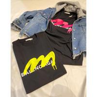 BA××NC…ロゴビッグシルエットTシャツ