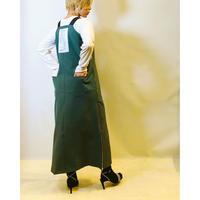 【AYANE(アヤン)】サイドジップジャンパースカート
