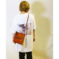 【MICALLE MICALLE(ミカーレミカーレ)】転写プリントビックシルエットTシャツ