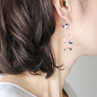 SWING Iong Earrings/Ear clips