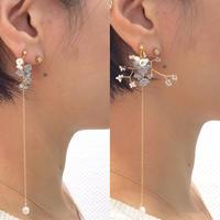 Toki  Earrings - LONG- / eda-S1