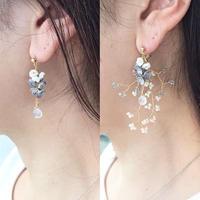 Toki  Earrings - SHORT- / eda-L1