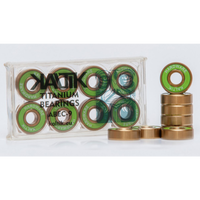 KALTIK ベアリング Green ABEC9 TITANIUM 8個セット