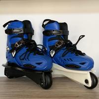 Kaltik K Skates Jr Blue ジュニア用アグレッシブスケート 青