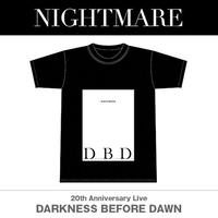 NIGHTMARE 『DARKNESS  BEFORE DAWN』Tシャツ