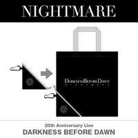 NIGHTMARE 『DARKNESS  BEFORE DAWN』エコバッグ