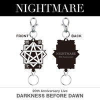 NIGHTMARE 『DARKNESS  BEFORE DAWN』リールキーホルダー