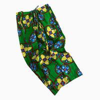 vintage euro African  batik easy pants