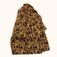 vintage euro African batik shirt