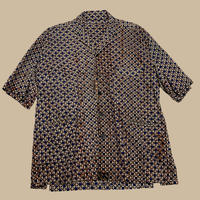vintage African design jacket shirt