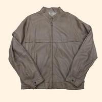 vintage euro 80s leather design jacket