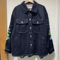 over print/Lotus Denim shirts