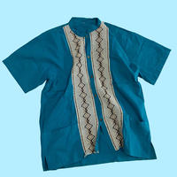 vintage Indian design 2pocket shirt