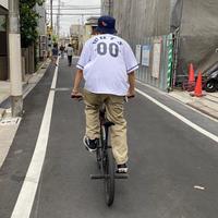 20ss WELL UPTONE STREET Baseball shirt