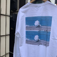 "over print""UNDER THE BLUE SKY L/S"""